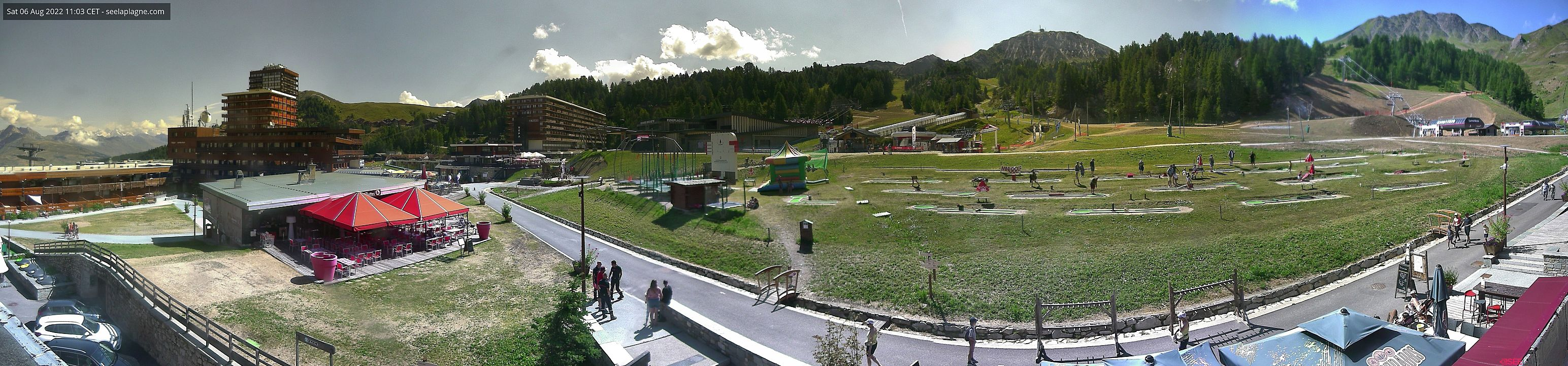 Webcam <br><span>Webcam La Plagne</span>
